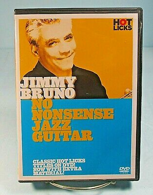 Jimmy Bruno No Nonsense Jazz Guitar DVD  Booklet And One Disc Hot Licks ʵ C2 • 12.09£