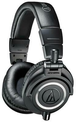 ATH-M50X Audio Technica Headphones , Pro Studio Monitor Black • 149.09£