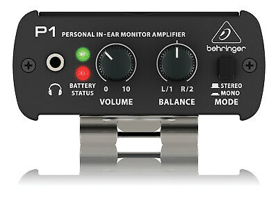 Behringer POWERPLAY P1 Personal In-Ear Monitor Amplifier ZB822 • 64£