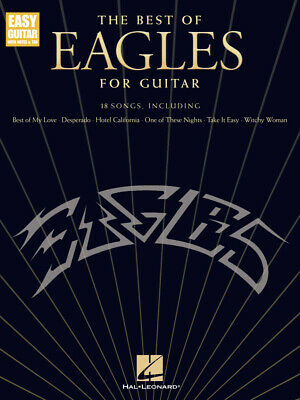 The Best of Eagles for Guitar - Updated Edition  Easy Guitar  Book [Softcover]