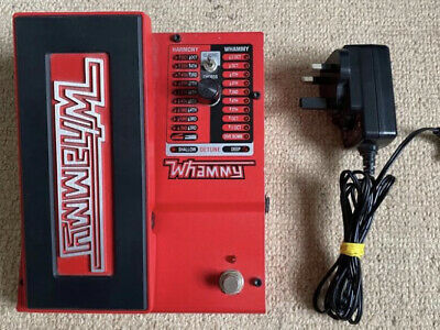 Digitech Whammy 5 effects pedal With Power Supply