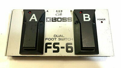 Dual Foot Switch Boss Fs-6 Footswitch Used Goods 69257 • 85.65£