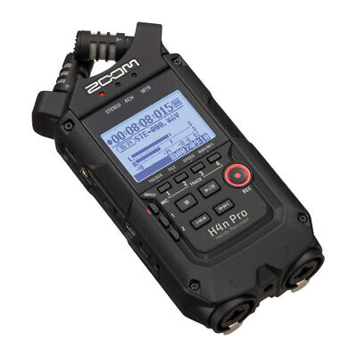 Zoom H4n Pro Portable Recorder, All Black Finish (NEW) • 224.67£