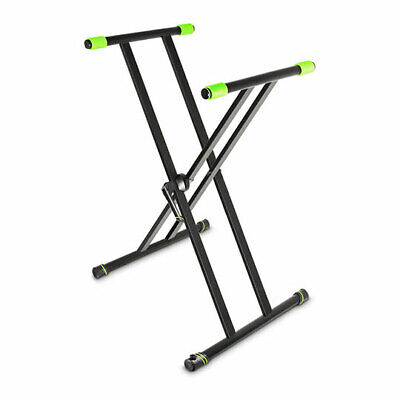 Gravity KSX 2 Double X-Form Keyboard Stand Keyboard Stand with Varifoot Levellin