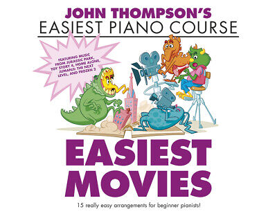 John Thompson's Easiest Movies   Piano  Book [Softcover]