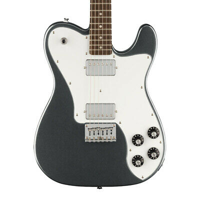 Squier Affinity Telecaster Deluxe Electric Guitar, Charcoal Frost Metallic (NEW)