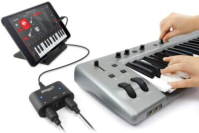 IK Multimedia Irig MIDI 2 Universal Midi Interface for iPhone - Fast Delivery
