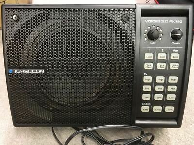 TC HELICON All-in-One PA Speaker & Vocal Processor VoiceSolo FX150 Used F/S