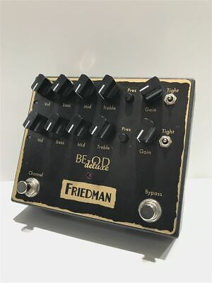 Friedman Be-Od Deluxe Dual Overdrive Distortion Dc9V Box Included 9D064