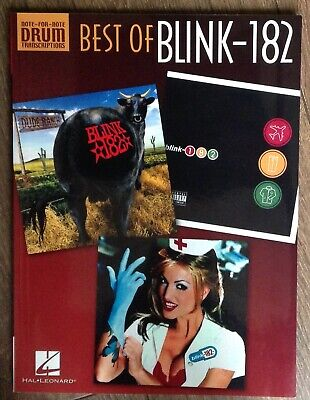 Blink-182 - Best Of (Drum Transcriptions, Note-For-Note) [Book]
