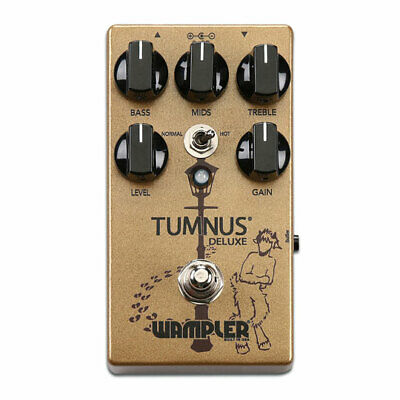 Wampler Tumnus Deluxe Overdrive Guitar Pedal, Buffered or True Bypass, 3-Band EQ