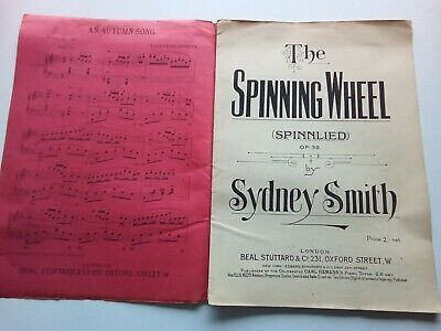 The Spinning Wheel  Opus 39 by Sydney Smith music score