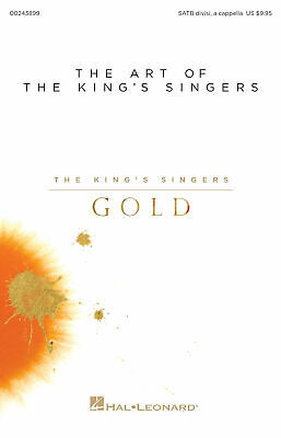 The Art of The King's Singers The King's Singers Gold SATB  Vocal Score HL002438
