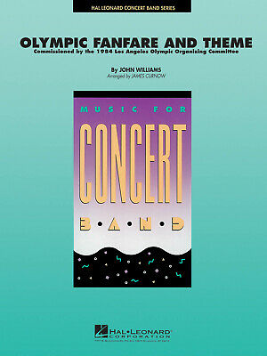 Olympic Fanfare and Theme  Concert Band John Williams Set (Score & Parts) HL0400