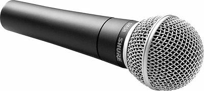 Shure SM58 Legendary Vocal Microphone Mic Unidirectional / Dynamic SM58-LC • 72.34£