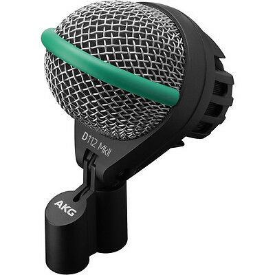 AKG D112 MKII D112 MK2 Kick Drum/Bass Instrument Dynamic Microphone New • 161.72£