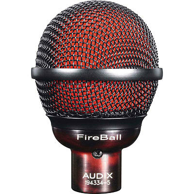 Audix FireBall Dynamic Mic Specifically Tuned And Designed For The Harmonica New • 111.78£