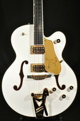 Gretsch G6136T-WHT White Falcon Guitar Players Edition • 2,725.53£