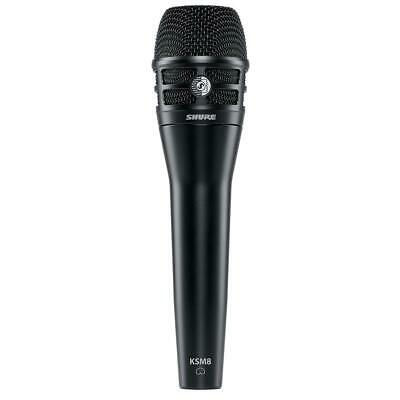 Shure KSM8 Dualdyne Dynamic Handheld Vocal Microphone, Black #KSM8/B • 304.37£