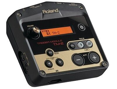 Roland TM-2 TM2 Trigger Module 100+ Onboard Sounds Two Trigger Inputs New • 161.15£