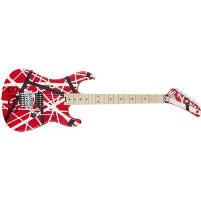 EVH Striped Series 5150 Electric Guitar, Red/Black/White Stripes #5107902515 • 1,064.23£