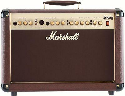 Marshall AS50D Acoustic 50W 2x8 Combo, Brown • 311.31£