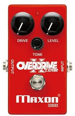 Maxon OD-808X Extreme Overdrive Pedal • 115£