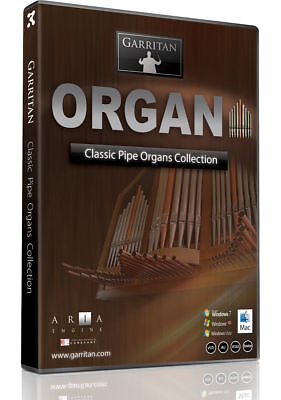 Garritan Classic Pipe Organ Collection Virtual Instrument Library Download *New* • 60.74£