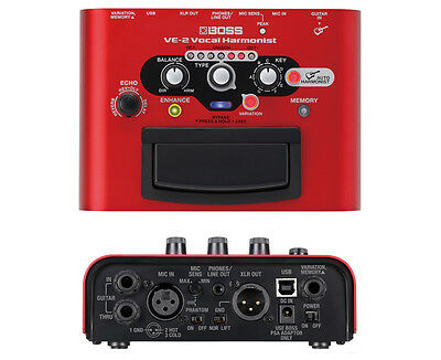 Boss VE-2 VE 2 Battery-powered Portable Vocal Processor New • 180.47£