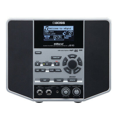 Boss EBand JS-10 JS10 Audio Player And Trainer With Guitar Effects New • 314.58£