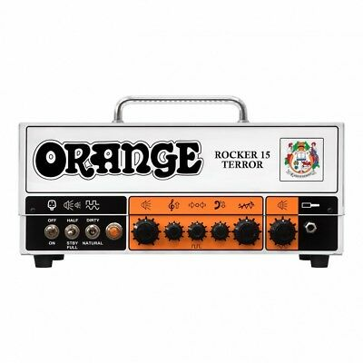 Orange Rocker 15 Terror 15/7/1/0.5 Watt Guitar Head Ships FREE Lower 48 States  • 598.06£