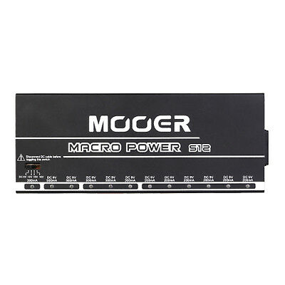 Mooer Macro Power S12 Isolated Professional Guitar Pedalboard Power Supply • 146.09£