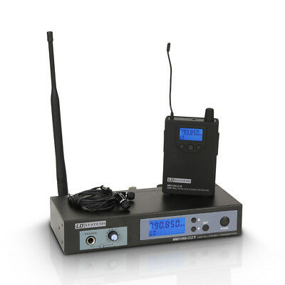 LD Systems MEI 100 G2 Wireless In-Ear Monitoring System • 181.02£