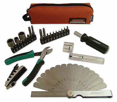 GrooveTech Stagehand Tech Groovetech Compact Tool Kit for Guitar & Bass Repair