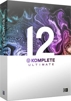 Native Instruments Komplete 12 Ultimate Production Suite Upgrade, Komplete 8+ • 499£