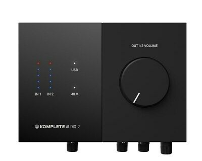 Native Instruments Komplete Audio 2 USB Audio Interface • 99£