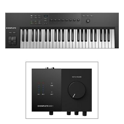 Native Instruments Komplete Kontrol A49 Controller Keyboard With A1 Interface Bu • 239.57£