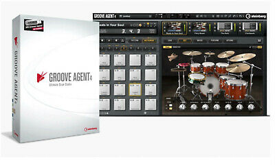Steinberg Groove Agent 4, Drums, Agent 5, Beats FREE Upgrade To Next Version • 106.70£