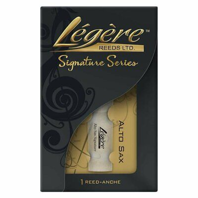 Legere synthetic Signature Alto Sax/Saxophone Reed 2.0mm to 3.5mm, ASG