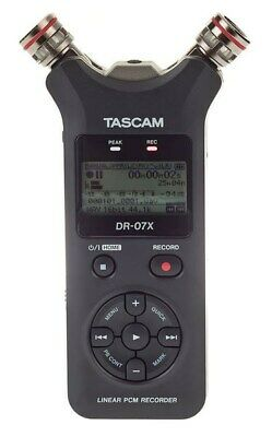 Tascam DR-07X Compact Stereo Recorder And USB Audio Interface • 101.60£