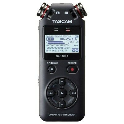 Tascam DR-05X Handheld Stereo Recorder And USB Audio Interface • 74.82£
