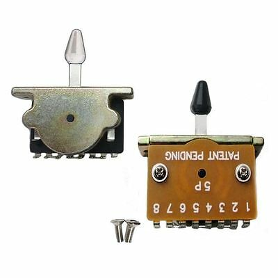 5 Way Pickup Selector Switch For Fender Stratocaster Electric Guitars • 6.29£