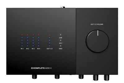Native Instruments Komplete Audio 6 Mk2 USB Audio Interface • 180.97£
