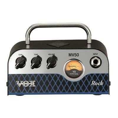NEW Vox MV50CR Rock MiniValve Head Guitar Amp 50W Amplifier • 198.94£