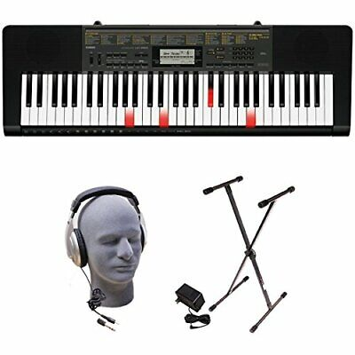 Casio LK-265 PPK 61-Key Premium Lighted Keyboard Pack With Stand, Headphones ... • 204.16£