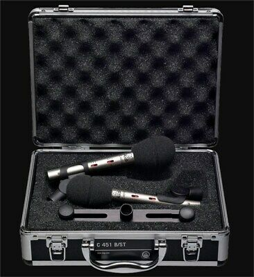 AKG C451 B Condenser Microphone Matched Pair • 575.97£