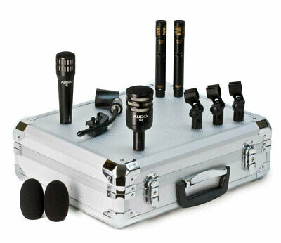 Audix DP-QUAD 4-Piece Drum Microphone Package D6,i5,ADX51 Case And Clips • 464.27£
