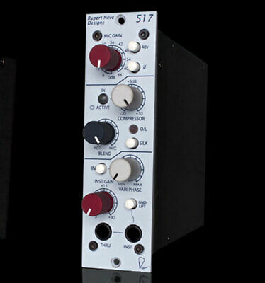 Rupert Neve Designs Portico 517  500-Series Mic Pre/DI/Compressor With Variphase • 655.84£