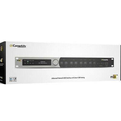 IConnectivity MioXL MIDI Interface, 8 Channel, Usb, Ethernet • 311.51£