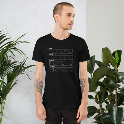 Oscillator Waveforms Synthesizer T-Shirt / Analog Synth / Synth Lover / Moog • 20.22£